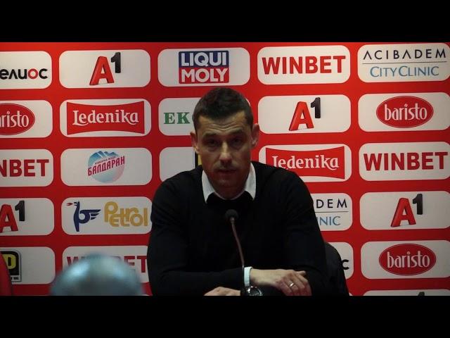 Александър Томаш след двубоя с ЦСКА-София
