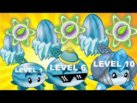 Winter Melon Pvz2 Level 1-6-10 Max Level in Plants vs. Zombies 2: Gameplay 2017