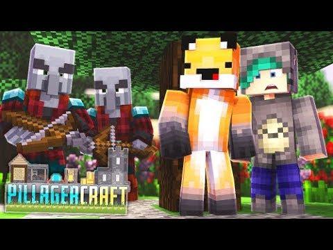 Surviving The Raid - Minecraft Pillagercraft Ep 02