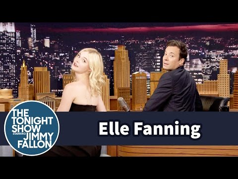 Elle Fanning Demos Her Senior Portrait Beauty Shot