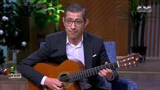 غني مع الجيتار والطبلة ان راح منك ياعين