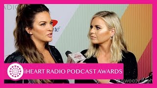 Becca Tilley and Tanya Rad Give Advice to Their Younger Selves | IHeart Radio Podcast Awards