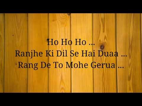 Lirik Lagu Gerua | Ost Dilwale (2015) | Arijit Singh & Antara Mitra | #laguindia #bollywood