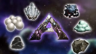 Every RESOURCE SPAWN on Extinction - Ark Survival Evolved