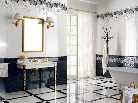 Ванная комната в стиле Коко Шанель