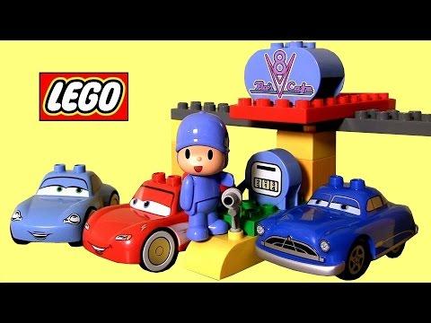 Lego Duplo Cars Flos V8 Café 5815 Youtube
