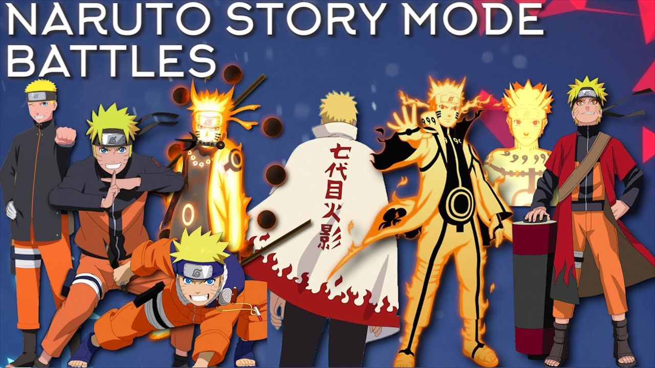 Naruto Story Mode Battles  Showcase  Naruto Shippuden