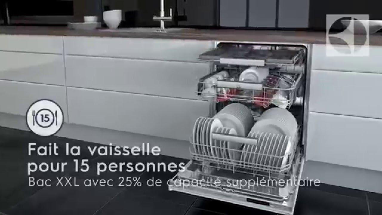 Lave vaisselle electrolux youtube - Bicarbonate de soude lave vaisselle ...
