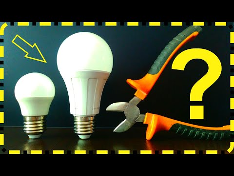 Что внутри LED лампы? Разбираем, ломаем, крушим лампочку!
