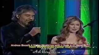 [Vietsub + Kara] Vivo Per Lei - Andrea Bocelli & Hayley Westenra