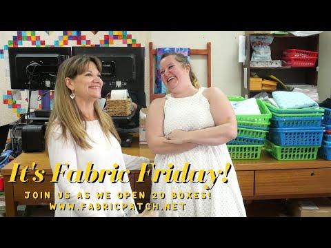 Fabric Friday 9-10-21