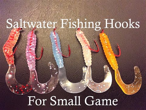 Recommended Saltwater Fishing Hooks For Small Game!