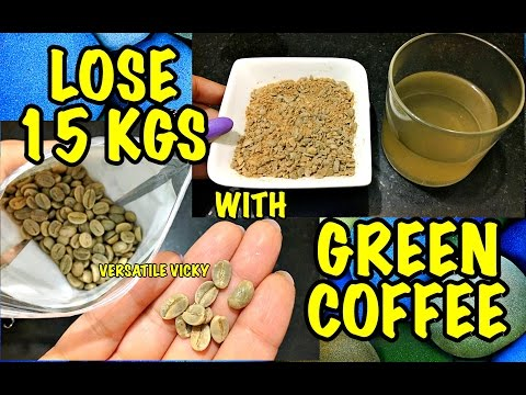 Lose 15Kg in a Month With Green Coffee | Green Coffee Weight Loss from YouTube · High Definition · Duration:  6 minutes 18 seconds  · 537.000+ views · uploaded on 29-12-2016 · uploaded by Versatile Vicky