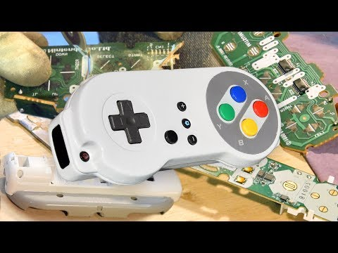 SNES WiiMote For Wii And Wii U - The Comfiest DIY Wiimote Ever