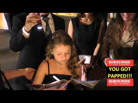 Kylie Rogers arrives to ArcLight Theatre to see Miracles From Heaven