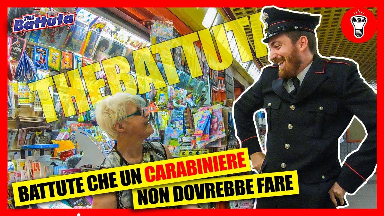 Download Battute Che Un Carabiniere Non Deve Fare Agli Sconosciuti - [theBattuta] - [Candid Camera] - theShow