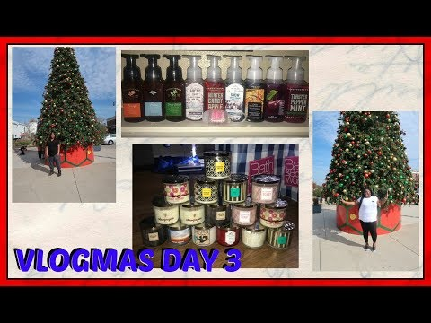 VLOGMAS '17 DAY 3: Shop with Me and Bae + Work Christmas Party