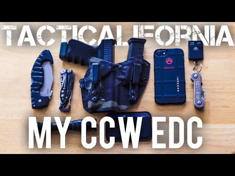 MY PERSONAL CONCEALED CARRY  EDC