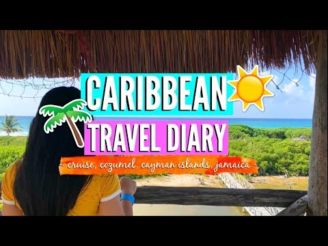 Caribbean Travel Diary 2018! Cruise, Cozumel, Cayman Islands, Jamaica //EliseLife