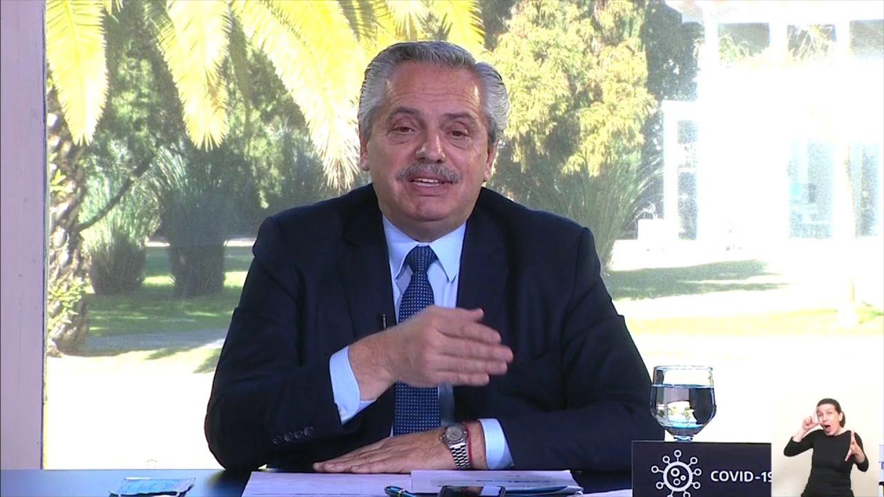 """Fernández: """"No vamos a postergar a ningún argentino para pagar una deuda que no podemos pagar"""""""