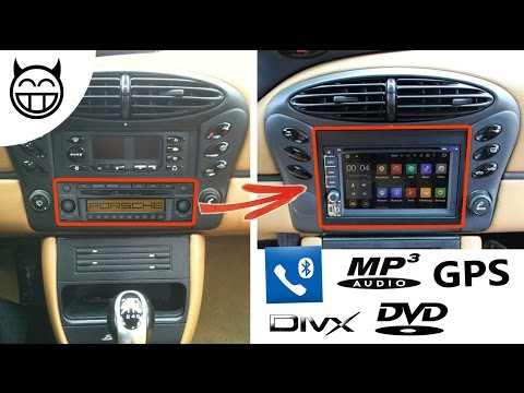 Boxster 986: How to install a GPS and MP3 Car radio stereo - Tuto DIY