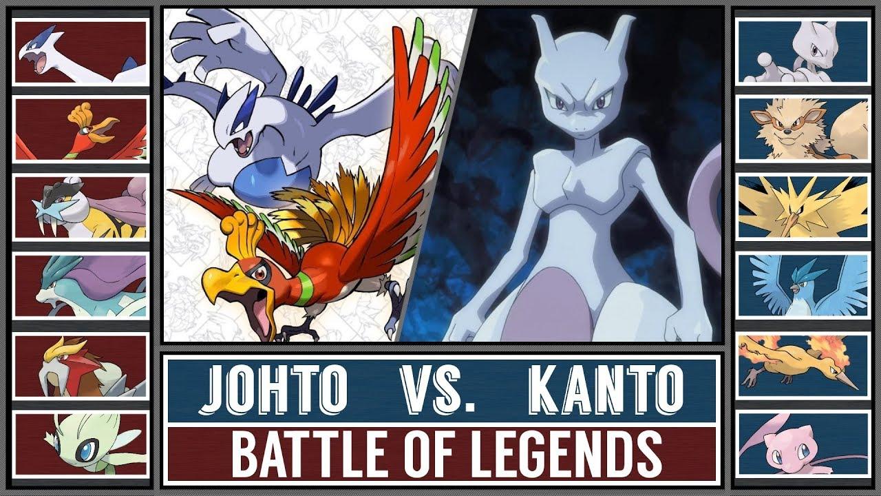 Battle of Legends: KANTO vs. JOHTO (Pokémon Sun/Moon ...