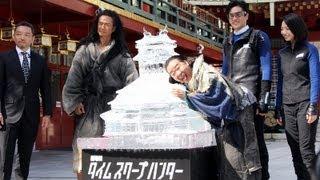 俳優の要潤さんが8月5日、東京・神田の神田明神で映画「劇場版タイムス...
