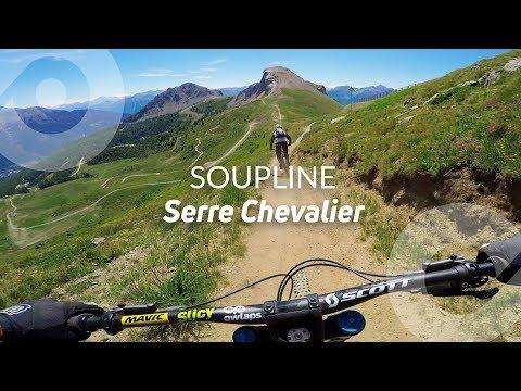 SOUPLINE, Serre Chevalier bike park, France