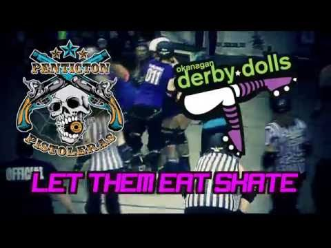 "Roller Derby - ""Let Them Eat Skate"""
