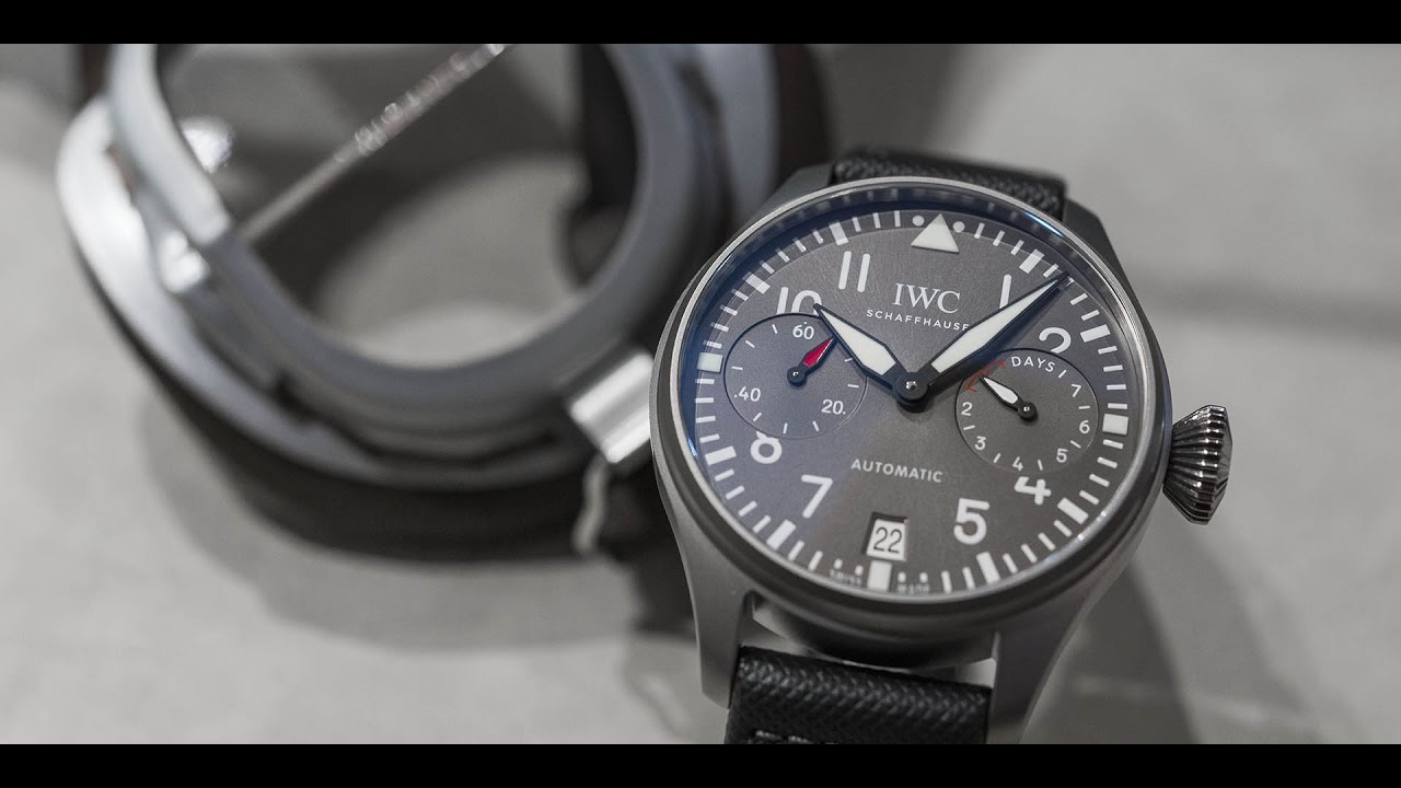 pics Introducing IWC Big Pilot's Watch Edition Patrouille Suisse