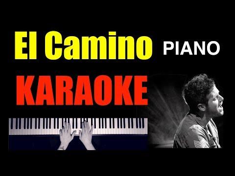 Pablo López - El Camino 🎹 Piano Karaoke + Partitura 🎶🚶🏻♂️