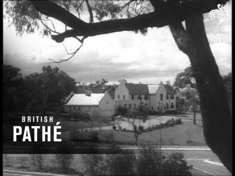Foreign Embassies Around Canberra (1962)