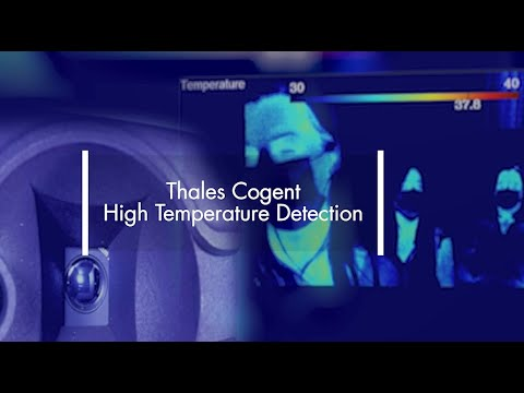 High temperature detection in public spaces helping fight Covid