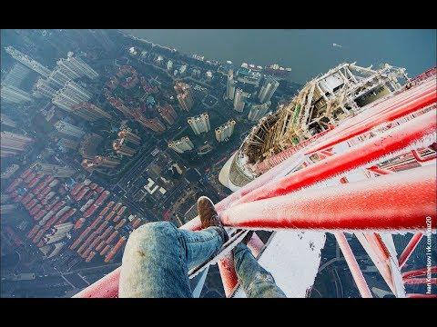 Free-Climbing Shanghai Tower