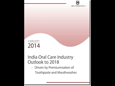 India Oral Care Industry Research Report