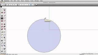 SketchUp Pro 2014 Tutorial | Circle Tool