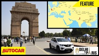#KwidDrive2Paris | Webisode 01 | Delhi To Paris In A Renault Kwid | Autocar India
