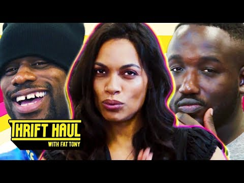 Delivering Food to Rosario Dawson's House ft. Hannibal Buress and Jamar Neighbors  Thrift Haul
