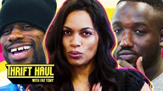 Delivering Food to Rosario Dawson's House ft. Hannibal Buress and Jamar Neighbors | Thrift Haul