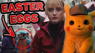 POKÉMON Detective Pikachu - Official Trailer #1 EASTER EGGS, Breakdown, Reaction - Real Pokemon!