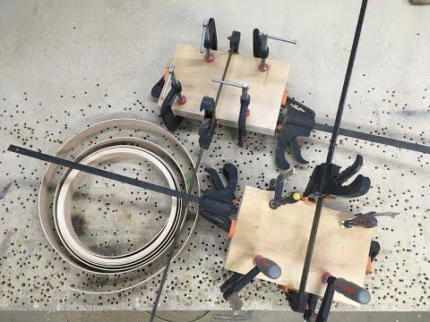 Склейка ЛДСП на ПУР клей. набор толщины