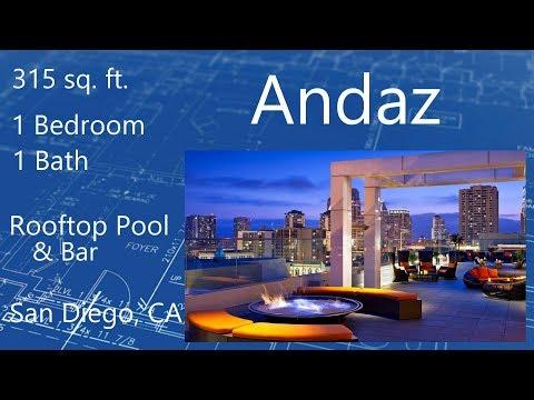 Andaz   San Diego, California   Room Tour 2019