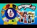 Wheel of Kwami Game with Miraculous Ladybug Tikki Plagg Trix Pollen