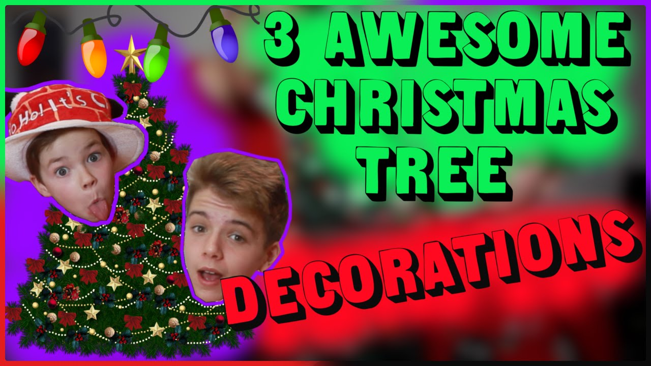 How to decorate a christmas tree 3 diy christmas tree for Christmas tree decorations you can make at home
