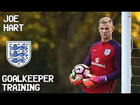 Joe Hart / Goalkeeper Training / England !