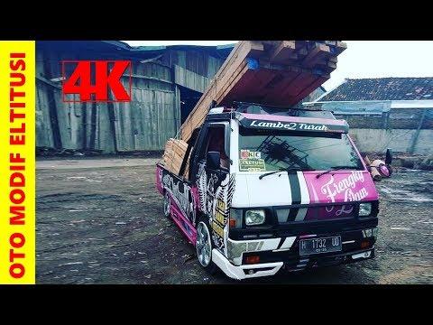 Modifikasi Mobil Pick up L300 Juragan Kayu Kendal EKC ~ Owner @frengkylikun