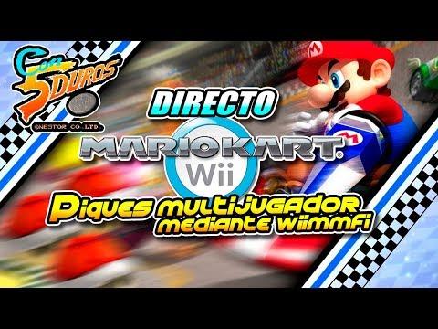 DIRECTO: MARIO WART WII (Piques multijugador mediante Wiimmfi)