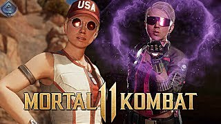 Mortal Kombat 11 Online - AWESOME SONYA BLADE COMBOS!