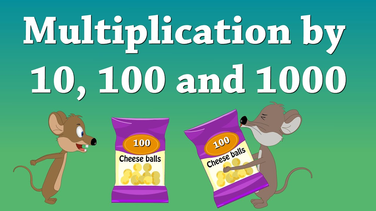 Multiplication By 10 100 And 1000 Aumsum Kids Education
