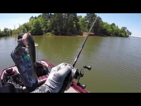 Fishing For Spawning Bass On Beautiful Lake Bob Sandlin!!!